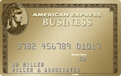 American Express Business Gold Rewards Business